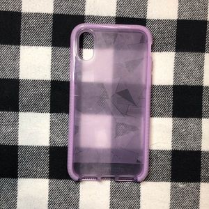 Tech21 Evo Edge iPhone X/XS Purple Case